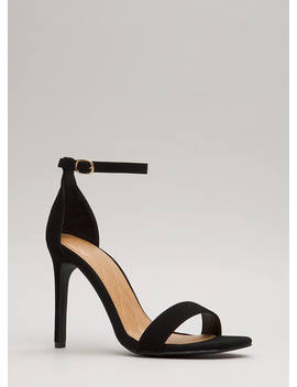 Simply Timeless Faux Nubuck Heels by Go Jane