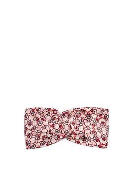 F Is Fendi Print Silk Headband by Fendi