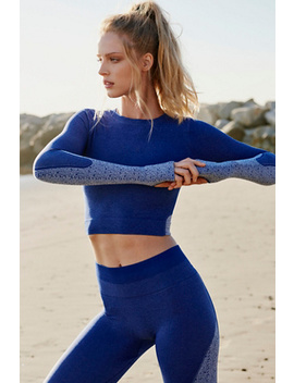 Seamless Patience &Amp; Strength Crop Top by Free People