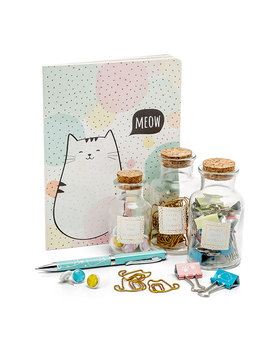 Cat's Meow Stationery Set   Exclusive by Think Geek