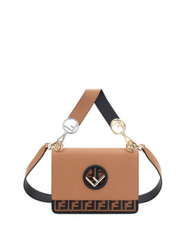 Kan I Logo Seal Small Shoulder Bag by Fendi