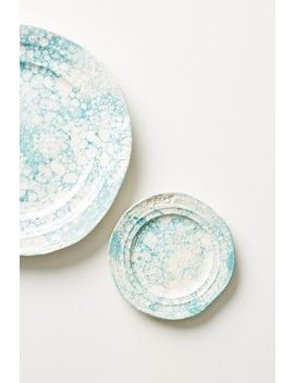 Marbled Glenna Bread Plate by Anthropologie