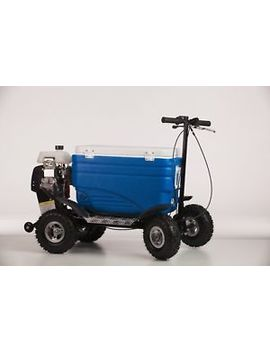 Riding Coolers Bllue Cooler, Cooler Scooter, Crazy Coolers by Crazy Coolers