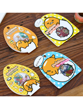 60 Pcs/Pack Sanrio Gutetama Paper Sticker Scrapbooking Diary Label Sticker Decorative Diy Stickers by Ali Express