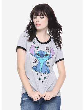 Disney Lilo & Stitch Planets Girls Ringer T Shirt by Hot Topic