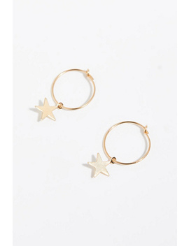 14k Vermeil Sleeper Hoops by Free People