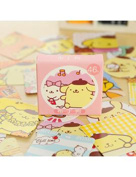 46 Pcs/Box Putin Dog Mini Paper Sticker Decoration Diy Diary Scrapbooking Sealing Sticker Kawaii Stationery by Ali Express