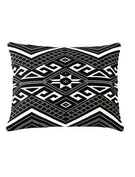 Shiraleah Isis Pillow, 20 By 16 Inch, Black by Shiraleah