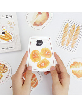 30 Pcs/Pack Heteromorphism Cute Bread Postcard Greeting Card Postcard Birthday Letter Envelope Gift Card Set by Ali Express