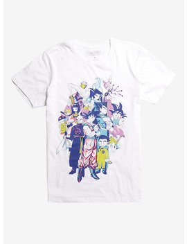 Dragon Ball Super Group T Shirt by Hot Topic
