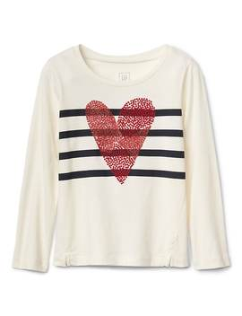 Long Sleeve Graphic Tee by Gap