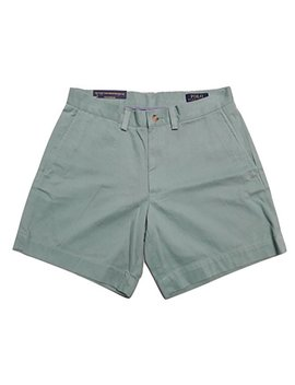Polo Ralph Lauren Mens 6 Inch Flat Front Chino Short by Polo