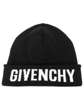 Logo Knit Beanie by Givenchy