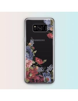 Floral Flowers Tpu Rubber Clear Case Cover For Samsung Galaxy S8 7 Edge S6 Edge by Samsung Galaxy S8 Plus, Samsung Galaxy S8, Samsung Galaxy S7 Edge, Samsung Galaxy S7, Samsung Galaxy S6 Edge+, Samsung Galaxy S6 Edge, Samsung Galaxy S6, Samsung Galaxy Note 5, Samsung Galaxy S5, For Samsung