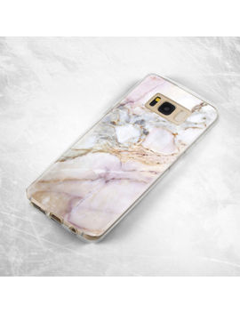 Samsung Galaxy S6 S7 S8 Plus Edge Marble Soft Silicone Tpu Rubber Case Cover by Samsung