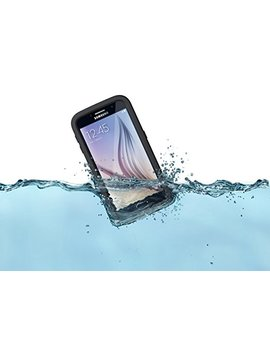 Life Proof Fre Samsung Galaxy S6 Waterproof Case   Retail Packaging   Base Jump Blue (Base Blue/Snowcone Blue) by Life Proof