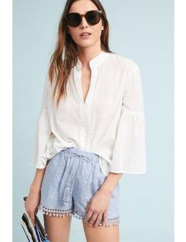 Pom Trimmed Shorts by Moon River