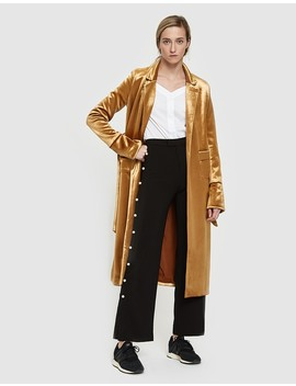 Oro Coat In Gold by Need Supply Co.