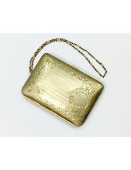 1900s Victorian Purse | Gold Wrist Purse by Etsy