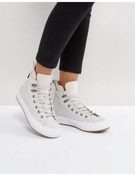 Converse Chuck Taylor All Star Hi Top Boot In Beige by Converse