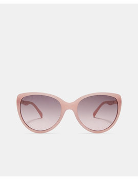 Cat Eye Oversized Sunglasses by Ted Baker