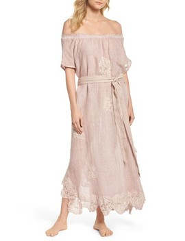 Daisy Linen Cover Up Dress by Muche Et Muchette