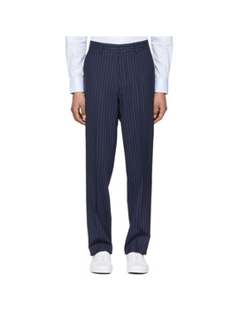 Navy Tyler Trousers by Tiger Of Sweden