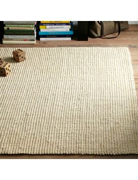 Jute Boucle Rug, 5'x8', Ivory by West Elm