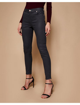 Coated Skinny Jeans by Ted Baker