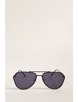 Melt Glossy Aviator Sunglasses by Forever 21