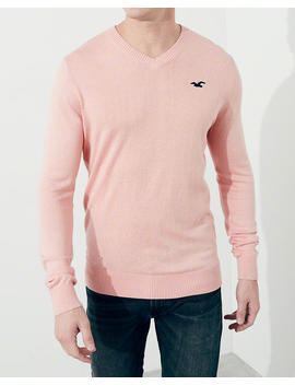 Lightweight V Neck Sweater by Hollister