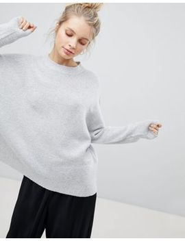 Bershka Oversized Soft Knit Sweater by Bershka
