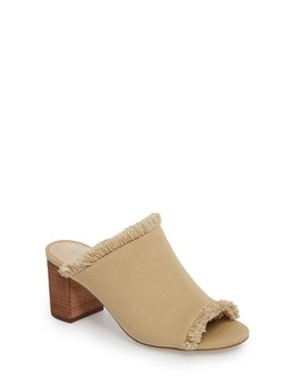 Kadia Fringed Mule Sandal by Charles By Charles David