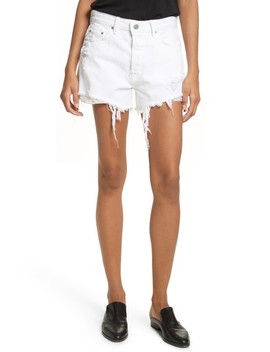 Helena High Waist Denim Shorts by Grlfrnd