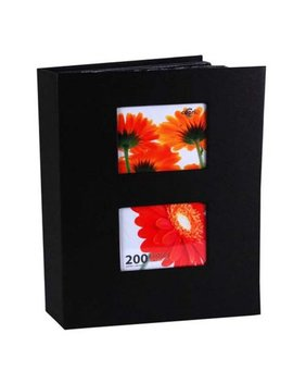Enigma 4 In. By 6 In. Photo Album For 200 Photos, Black by Enigma