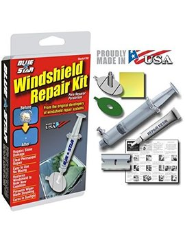 Blue Star Windshield Repair Kit, .027 Fl Oz by Blue Star