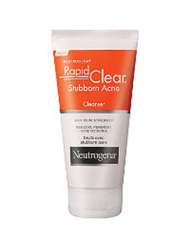 Rapid Clear Stubborn Acne Cream Cleanser by Neutrogena