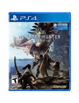 Play Station 4 by Monster Hunter: World