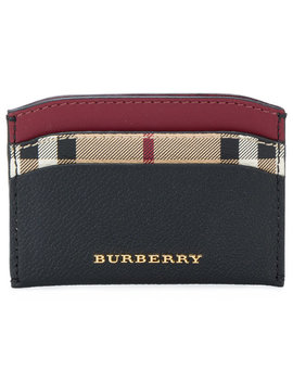 Logo Card Case by Burberry