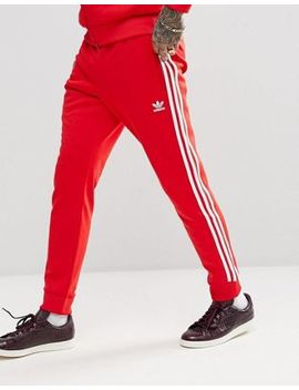 adidas-originals-adicolor-superstar-joggers-in-red-cw1276 by adidas-originals