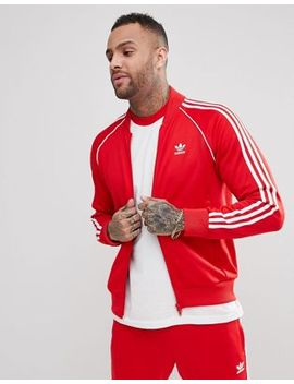 Adidas Originals Adicolor Track Jacket In Red Cw1257 by Adidas Originals