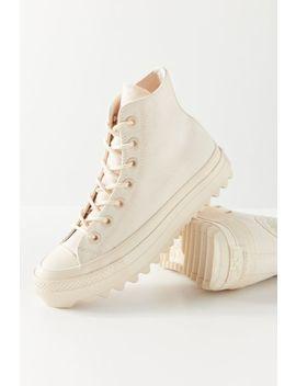 Converse Chuck Taylor All Star Lift Ripple High Top Sneaker by Converse