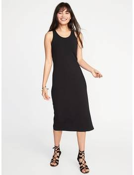 Sleeveless Jersey Midi Dress For Women by Old Navy
