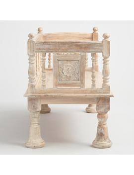 Wood Jodhpur Bench by World Market