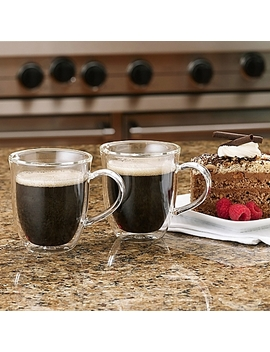 Bon Jour® 6 Oz. Insulated Espresso Cups (Set Of 2) by Bed Bath And Beyond