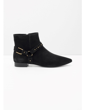 Stud Strap Boots by & Other Stories