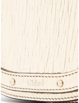 Nile Small Metallic Leather Cross Body Bag by Chloé