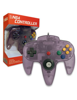 Nintendo 64 Controller Atomic Purple  N64 *Old Skool* New In Box!! by Old Skool
