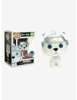 Funko Rick And Morty Pop! Animation Snowball (Flocked) Vinyl Figure 2017 Stan Lee's L.A. Comic Con Exclusive by Hot Topic