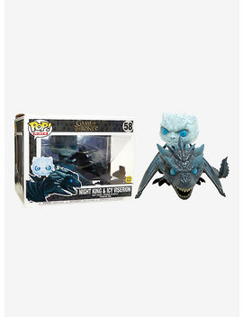 Funko Game Of Thrones Pop! Rides Night King &Amp; Icy Viserion Glow In The Dark Vinyl Figure by Hot Topic